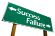 success-and-failure-road-sign