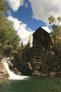 Crystall Mill, CO; photo by Rick Anderson